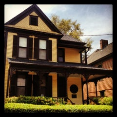 Photo taken at Martin Luther King Jr. Birth Home by Asa C. on 8/3/2012