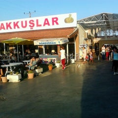 Photo taken at Akkuşlar Dinlenme Tesisleri by Egemen C. on 9/6/2012