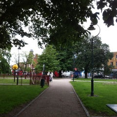 Photo taken at Camberwell Green by Sarah O. on 6/17/2012