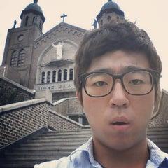 Photo taken at 포일성당 by Tsabes L. on 8/19/2012