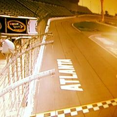 Photo taken at Atlanta Motor Speedway by Jose S. on 8/30/2012