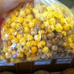 Photo taken at Del's Popcorn Shop by Krista B. on 4/7/2012