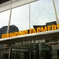 Photo taken at Founding Farmers by anjelika on 7/24/2012