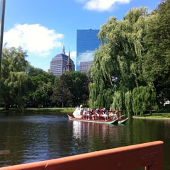 Photo taken at The Swan Boats by Rich V. on 6/17/2012