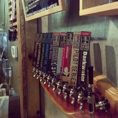 Photo taken at Swamp Head Brewery by Andrew B. on 6/20/2012