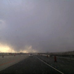 Photo taken at Hwy 401 at Mavis by K J. on 3/9/2012