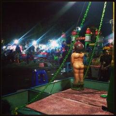 Photo taken at Pasar Malam Lapangan Kodam V Brawijaya by Don't Cha D. on 12/29/2013