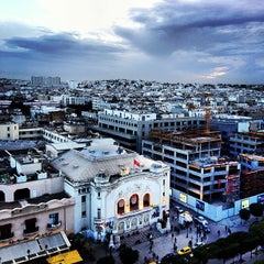 Photo taken at El Hana International Hotel Tunis by Eric G. on 3/6/2013
