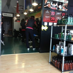Photo taken at Sport Clips by Gian U. on 6/2/2013