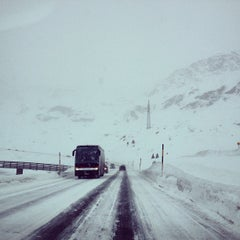 Photo taken at Julierpass by MutiaFisher A. on 2/2/2013