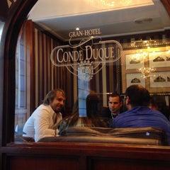 Foto tomada en Gran Hotel Conde Duque por Lluis G. el 5/26/2015
