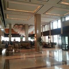Photo taken at Athens Ledra Hotel by Bryan A. on 4/6/2013