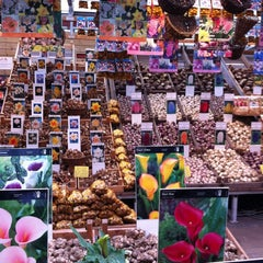 Photo taken at Bloemenmarkt by Alexandra on 10/20/2012