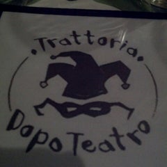 Photo taken at Trattoria Dopo Teatro by Keef M. on 1/4/2014