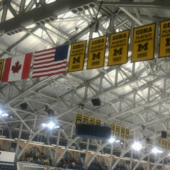 Photo taken at Yost Ice Arena by Jamie F. on 11/17/2012