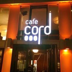 Photo taken at Cafe Cord by Hüseyin Ö. on 5/8/2014