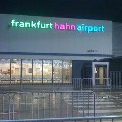Photo taken at Frankfurt Hahn Airport (HHN) by Jackson H. on 10/8/2012