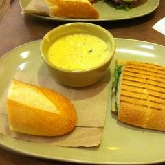 Photo taken at Panera Bread by Latasha F. on 9/30/2012