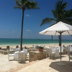 Photo taken at Maroma Hotel by IL J. on 6/14/2013