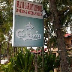 Photo taken at Bistro@Garden Beach Resort by Andrey S. on 2/16/2013