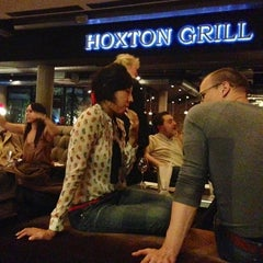 Photo taken at The Hoxton Shoreditch by Lippe O. on 4/1/2013