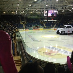 Photo taken at Swiss Arena by Julie on 9/28/2012