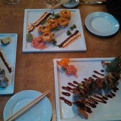 Photo taken at Dib Sushi Bar & Thai Cuisine by Eric M. on 4/18/2013