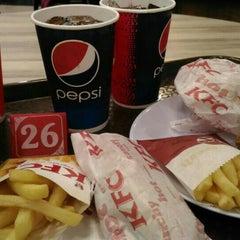 Photo taken at KFC by Wan Hazammy W. on 10/26/2015
