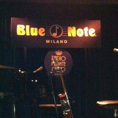 Photo taken at Blue Note Milano by Roberta B. on 4/12/2013