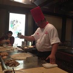 Photo taken at Kanki Japanese House of Steaks & Sushi by Kristen J. on 6/20/2013