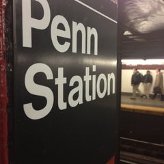 Photo taken at New York Penn Station by Kevin W. on 4/22/2013