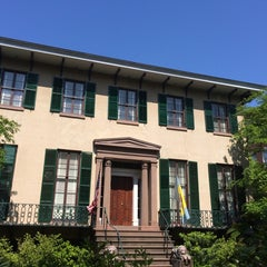 Photo taken at Andrew Low House Museum by Jason M. on 4/24/2014