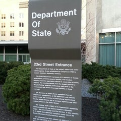 Photo taken at U.S. Department of State, Harry S Truman Building by K C. on 3/30/2013