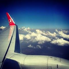 Photo taken at İzmir Adnan Menderes Airport (ADB) by Kaan on 7/11/2013