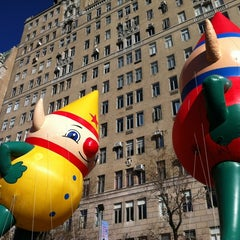 Photo taken at Macy's Parade Balloon Inflation 2012 by Charley L. on 11/22/2012