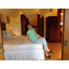 Photo taken at Tirtagangga Hotel by Theresia S. on 9/8/2014