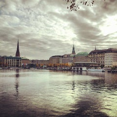 Photo taken at Hamburg by Mona A. on 10/21/2012