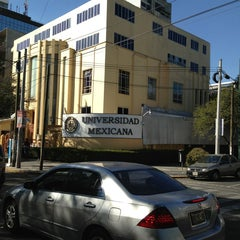 Photo taken at Universidad Mexicana Polanco by Ivonne M. on 2/3/2013