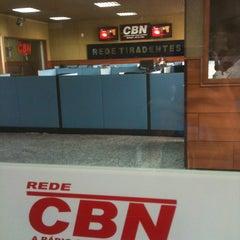 Photo taken at Rede de Rádio e Televisão Tiradentes by Eliana M. on 4/5/2013