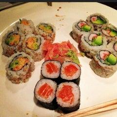 Photo taken at Manu's Tapas Bar & Sushi Lounge by Nik R. on 9/29/2012