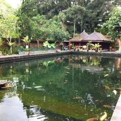 Photo taken at Pura Tirta Empul (Tirta Empul Temple) by Hendry W. on 12/23/2012