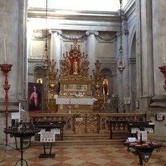 Photo taken at Chiesa dei S. Geremia e Lucia by Richard Y. on 7/30/2013