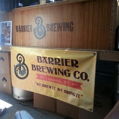 Photo taken at Barrier Brewing Co. by Dana P. on 8/3/2013