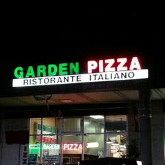 Photo taken at Garden Pizza by Michael C. on 2/26/2013