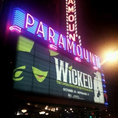 Photo taken at Paramount Theatre by Gabriel C. on 11/12/2012