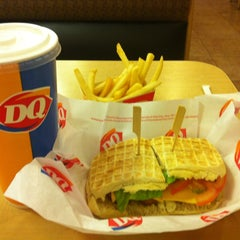 Photo taken at Dairy Queen | ديري كوين by Michael O. on 4/14/2013