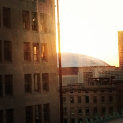 Photo taken at Hampton Inn & Suites New Orleans Downtown (French Quarter Area) by Julia B. on 10/9/2012