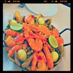 Photo taken at La Paella Cocina Española by Gregorio C. on 4/14/2013