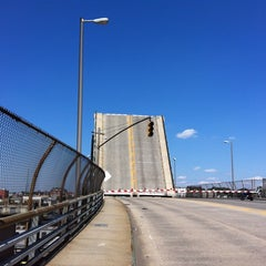 Photo taken at John Byrne-Greenpoint Avenue Bridge by Wei-Hsiang H. on 6/19/2013