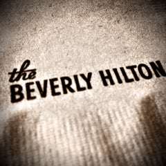 Photo taken at The Beverly Hilton by Randy B. on 5/3/2013